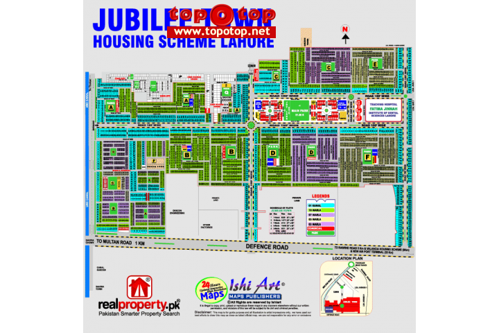 10 Marla plot 37 to 45 lac Jubilee Town, Lahore