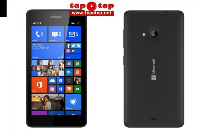Lumia 535 Black Box packed
